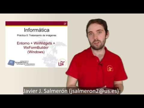 P08.04.1 - Instalación de Práctica 8 + WxWidgets + WxFormBuillder (Windows)