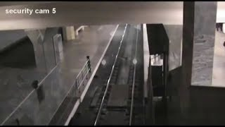 Ghost train recorded by a security camera in China? 2018