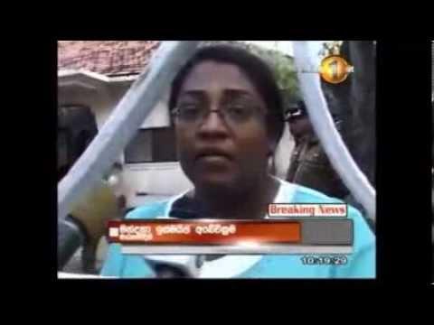Sunday Leader Journalist Mandana Ismail attacked