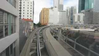 Fahrt mit Metromover Miami, Florida [US]