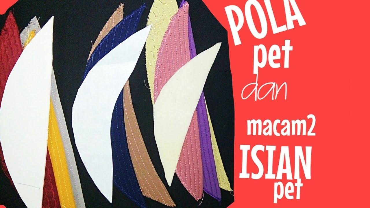 ❤️ CARA MEMBUAT POLA PET JILBAB /KHIMAR & MACAM-MACAM ISIAN PET