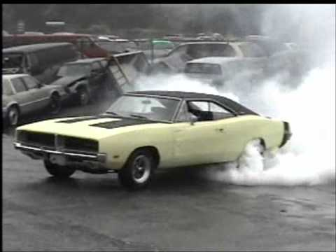 Dodge Charger 1969 - Burn