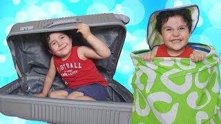 EVDE SAKLAMBAÇ OYNADIK | Yusuf Play Hide and Seek with Uncle Fun Kid Video