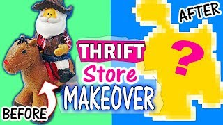 SCULPTURE MAKEOVER #2 Thrift Store makeovers Spooky Edition Halloween