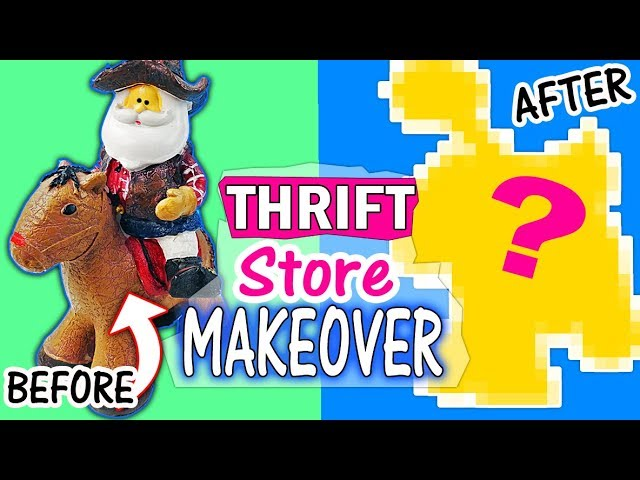 sculpture-makeover-2-thrift-store-makeovers-halloween-edition
