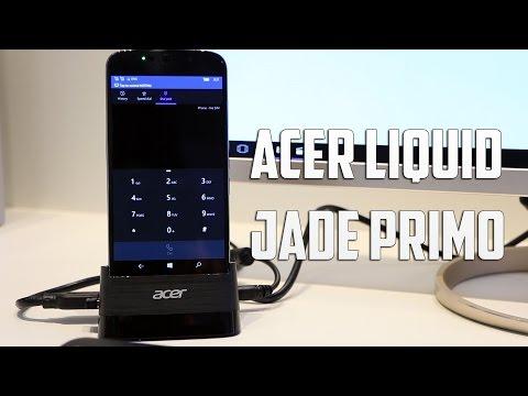 Acer Liquid Jade Primo, primeras impresiones #MWC16