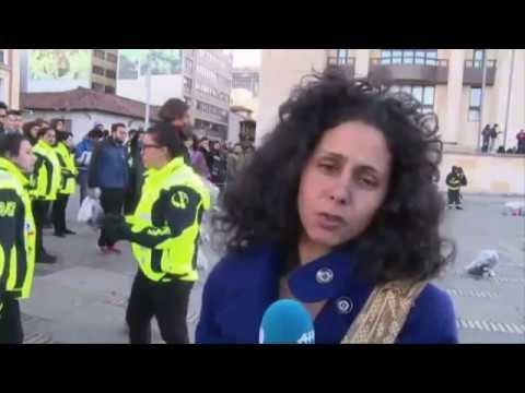 VIDEO DE TUNICK Y EL DESNUDO DE LAS MAS DE 6 MIL COLOMBIANAS EN PLENO CENTRO DE BOGOTA.