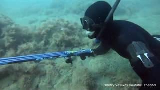 Малый Утриш Подводная охота в сентябре 2019
