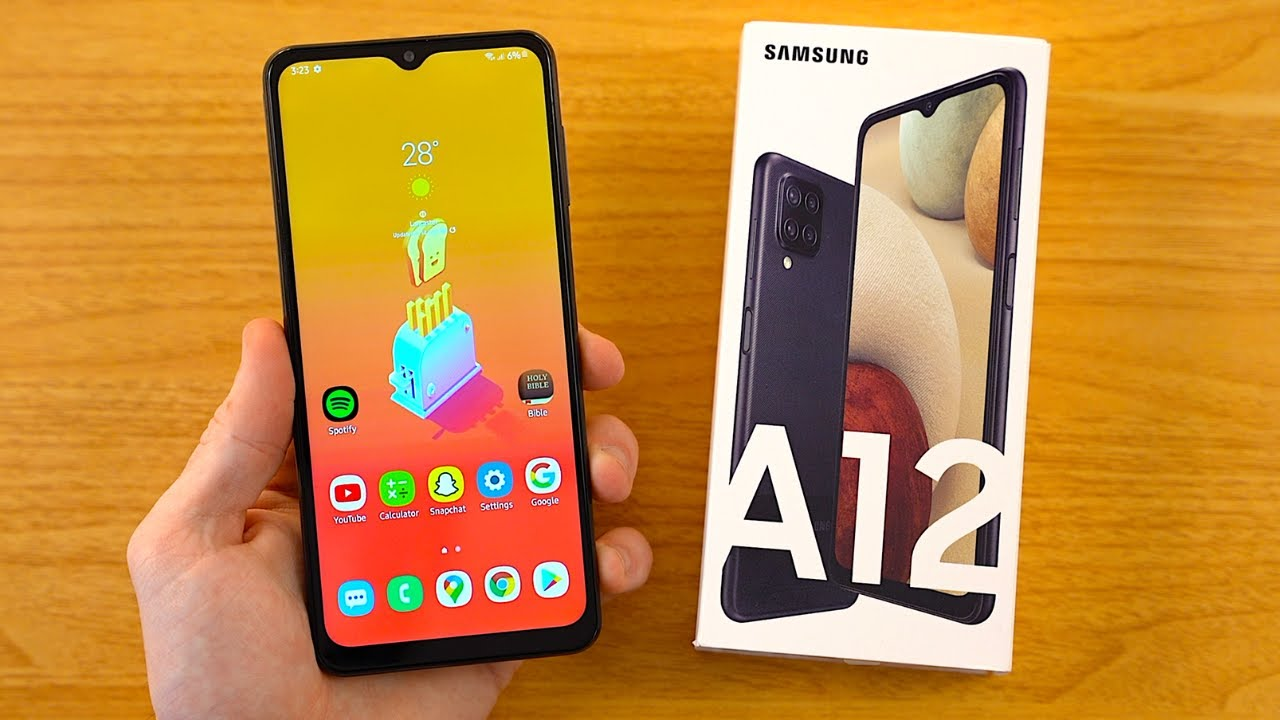 Download Samsung Galaxy A12 Unboxing & First Impressions!