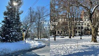 CLIP 02ㅣ눈으로 하얗게 덮인 보스턴. 홈베이킹 /…