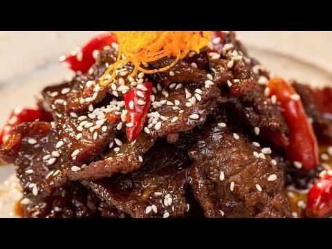 陈皮牛肉,四川经典凉菜