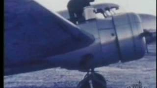 Pacific Alaska Airways Lockheed 10 Electra Fueling & Taking Off
