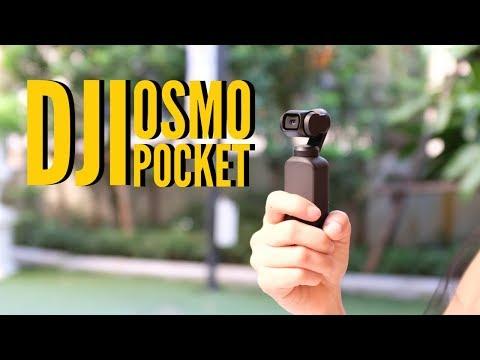 ของมันต้องมี | พรีวิว DJI OSMO POCKET | HANDS ON - วันที่ 03 Dec 2018