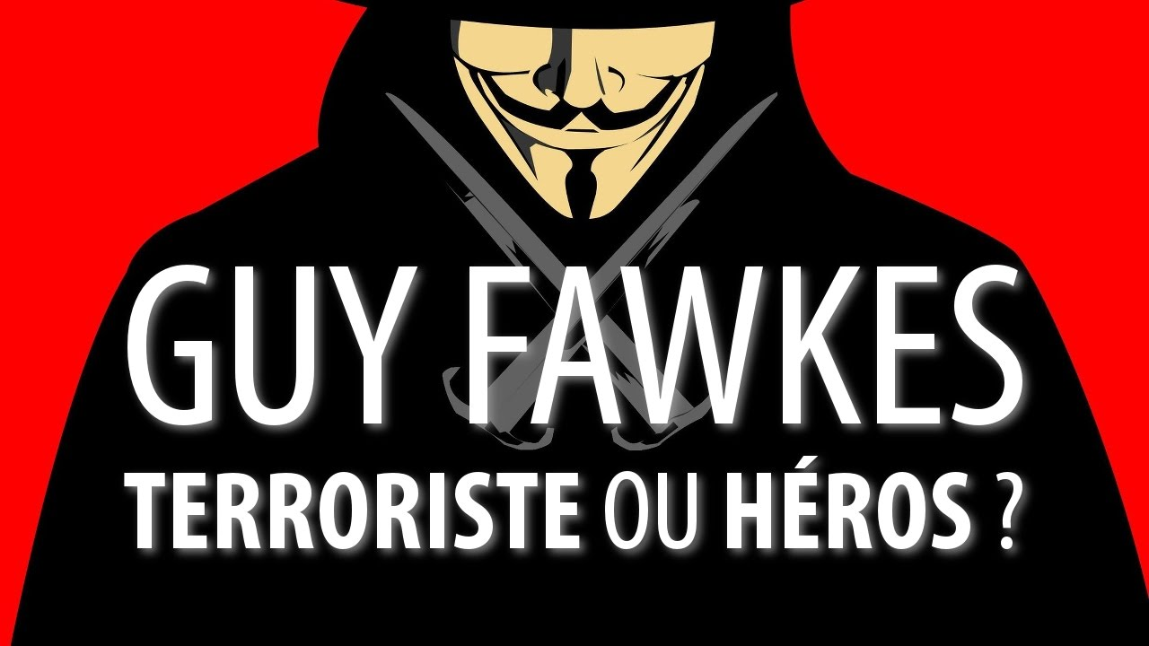 #3 Guy Fawkes : de V pour Vendetta aux Anonymous | ANALEPSE