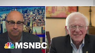 Bernie Sanders Reacts To Amazon Workers' Union Efforts In Alabama | Velshi | MSNBC