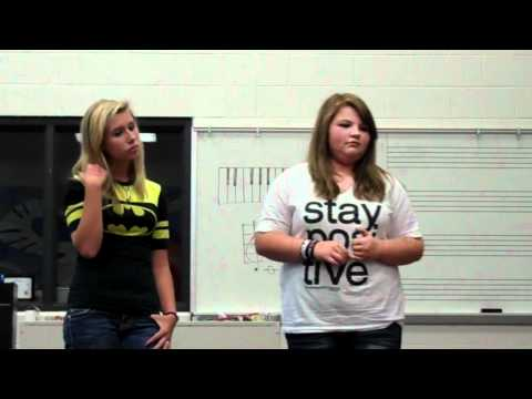 Misty & Nicole singing - Leave The Pieces