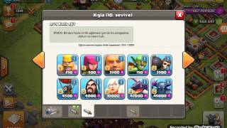 Clash of clans fhx-server para hileli!
