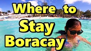 Where to Stay in Boracay Philippines Station 2 vs Station 3