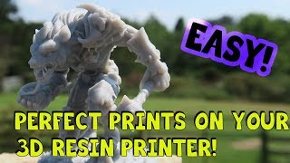 How to Get Near Perfect Prints on your Resin Printer Using This Tool!