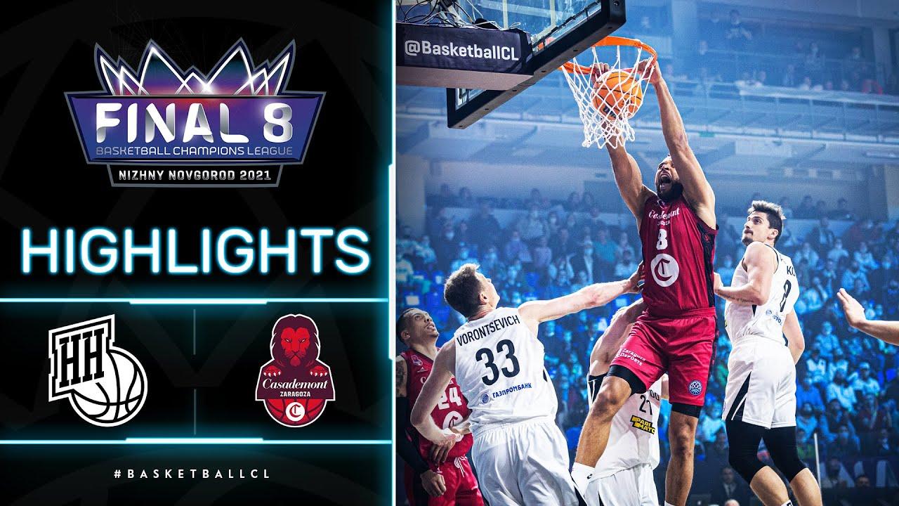 Nizhny Novgorod v Casademont Zaragoza - Highlights | Basketball Champions League 2020/21