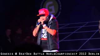 Genesis @ BeatBox Battle WorldChampionchip 2012 Berlin