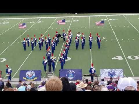Knox City High School Marching Band 2017 Regional Marching Contest
