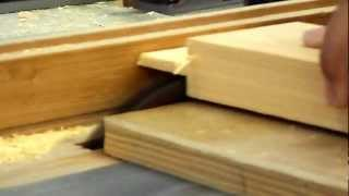 Make Tenons With A Table Saw