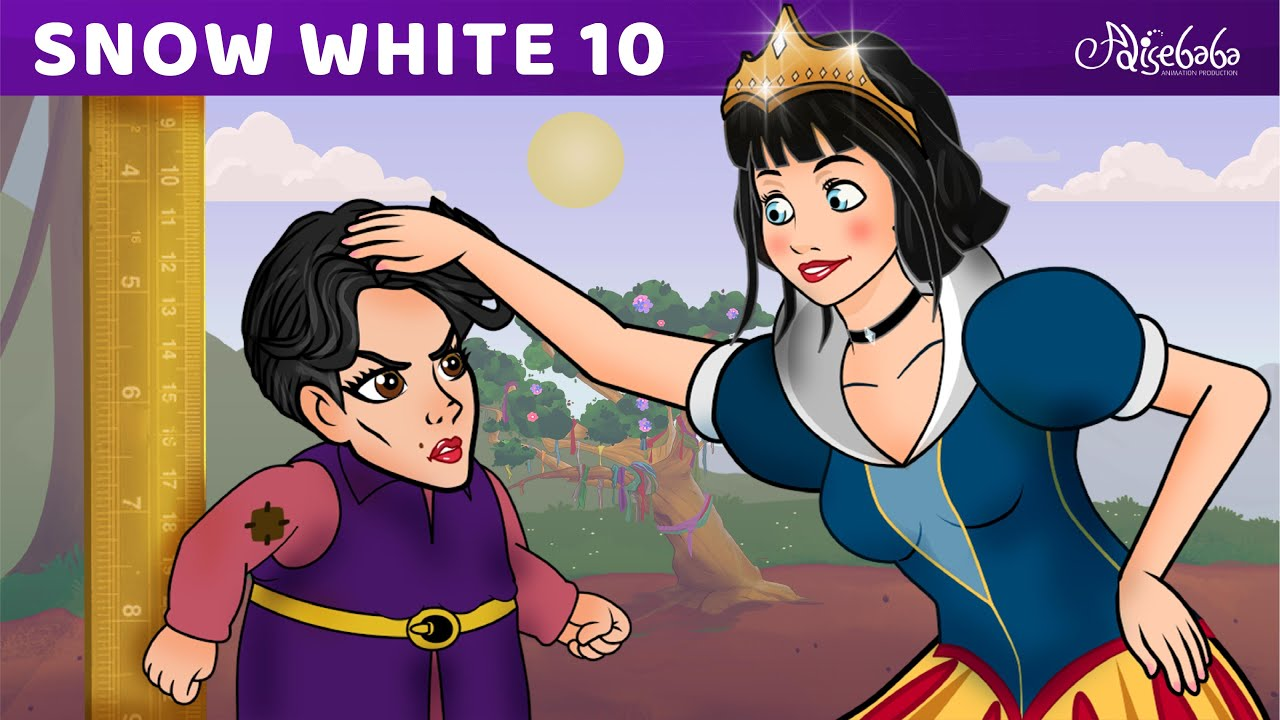 Snow White Series Episode 10 - The Dwarf Queen   Fairy Tales and Bedtime Stories For Kids Storytime