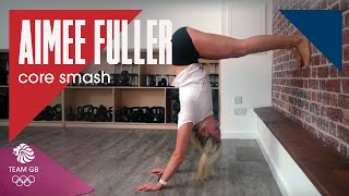 Aimee Fuller core smash: Workout Wednesday 16.01.19