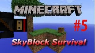 Minecraft: SkyBlock Survival #5 All Alone Once Again