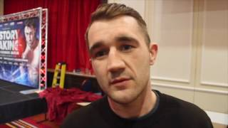 MARC KERR - 'IVE HAD THE DREAM START SO FAR TO MY CAREER' & TALKS RICKY BURNS v MICHELLE DI ROCCO