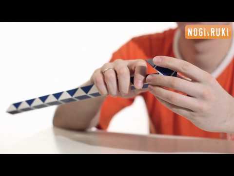 Видео Головоломка змейка как собрать шар инструкция