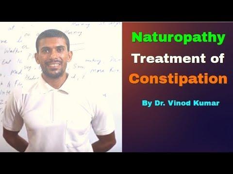 Naturopathy Treatment of Constipation   Hindi