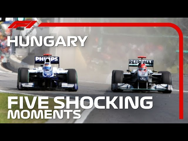 5 Shocking Moments From The Hungarian Grand Prix