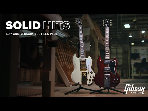 60th Anniversary: 1961 Les Paul SG Custom and Standard