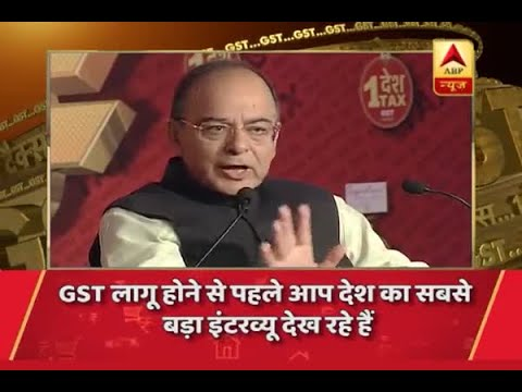 Jan Man: Finance Minister Arun Jaitley EXCLUSIVE: Know everything about GST