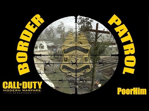 CoD4 Remastered OverGrown Border Patrol