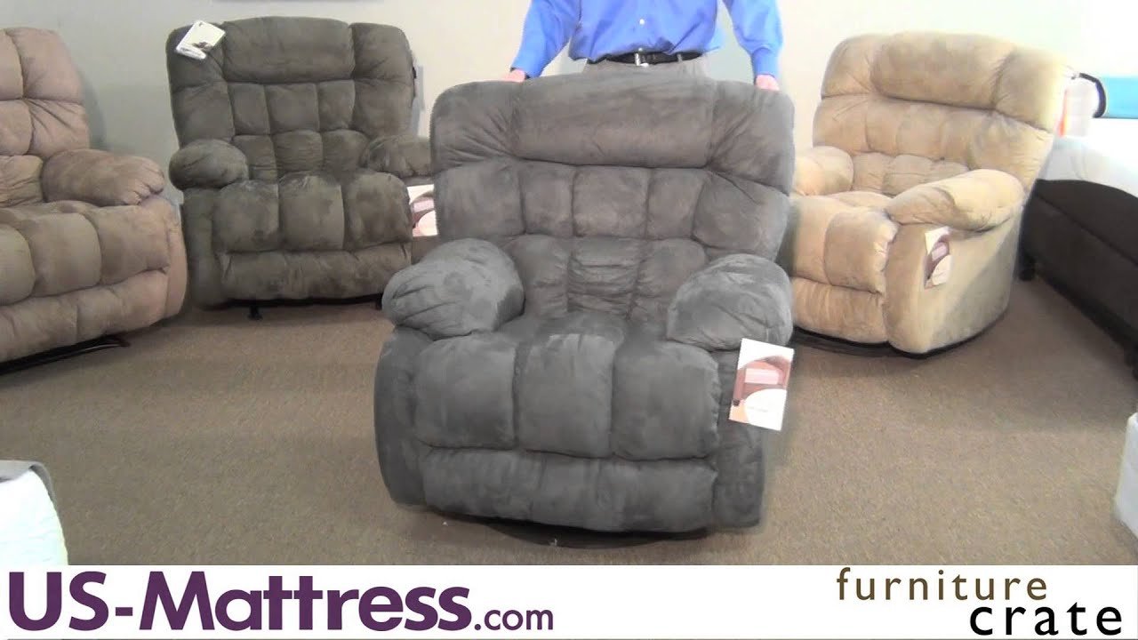 Catnapper teddy bear chaise swivel glider recliner youtube for Catnapper teddy bear chaise recliner