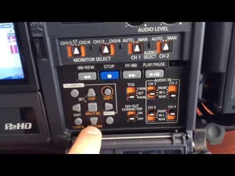 Panasonic HPX370 quick runthrough