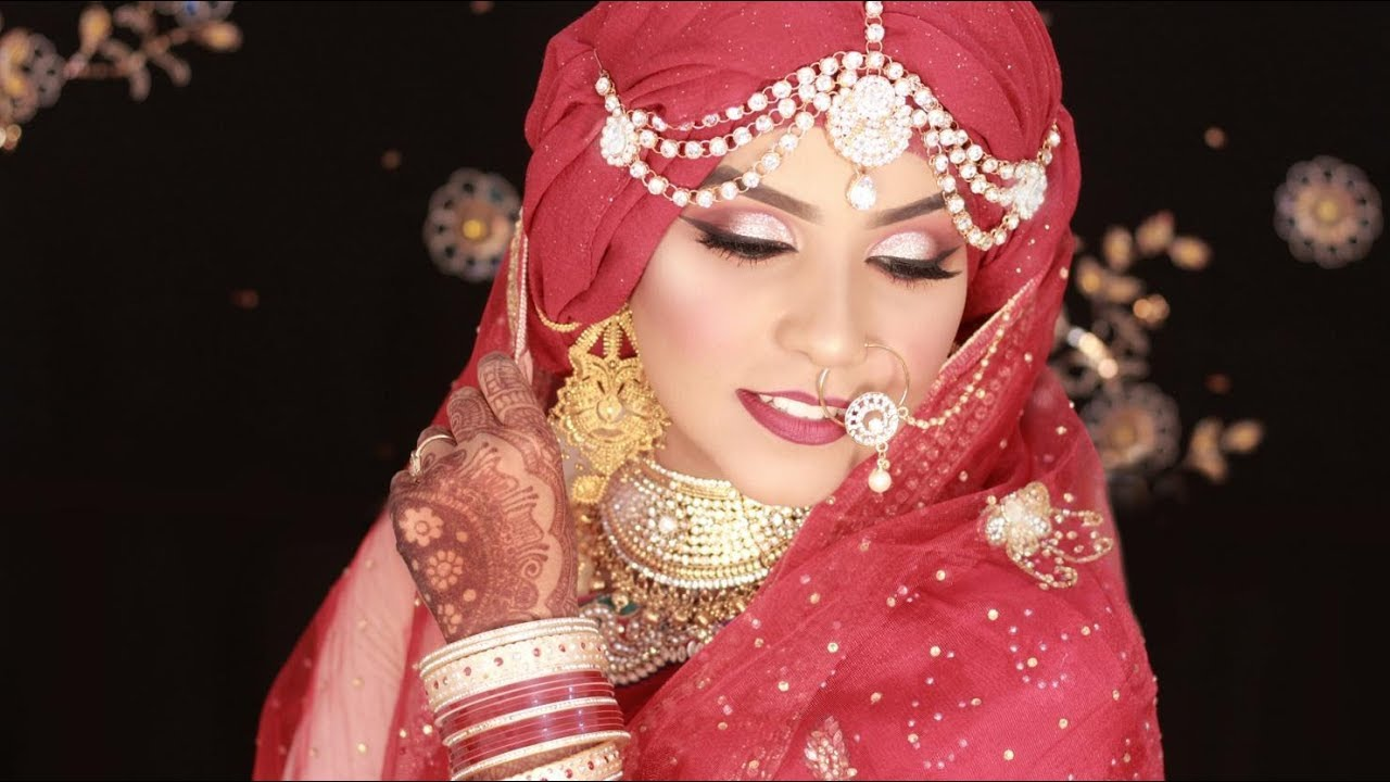 Modern Asian Bridal Makeup Tutorial 2017