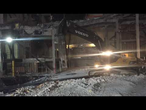 Demolition zarkana theater Las Vegas Nevada