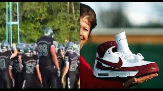 Real life giant in High School Football | Larger than Biblical Goliath!