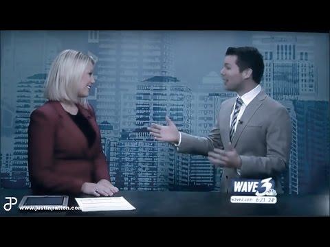 Justin Patton on WAVE 3 Sunrise