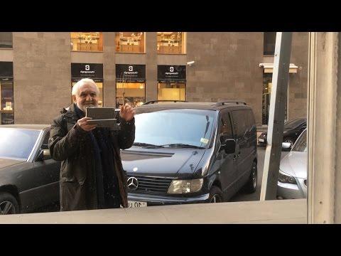 Yerevan, 29.11.16, Th, Video-1, Karapi Lchits Hin Yerevantsu Poghots
