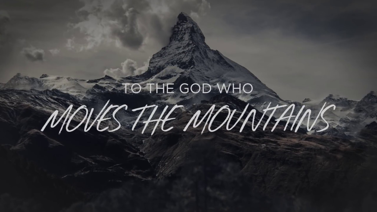 Download God Who Moves The Mountains (Lyric Video) - Corey Voss [Official]