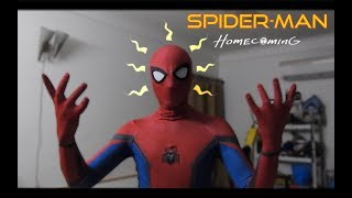 Spider-Man Homecoming suit review/unboxing
