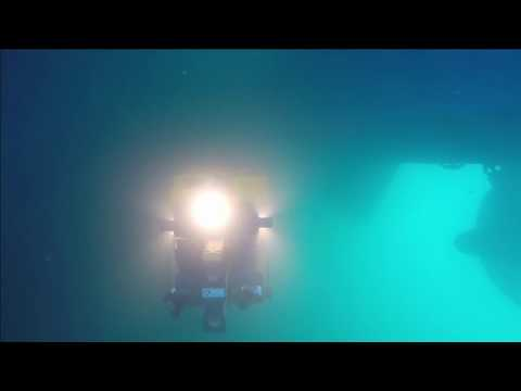 DexROV - First test of assembled ROV + stereo cameras + arms