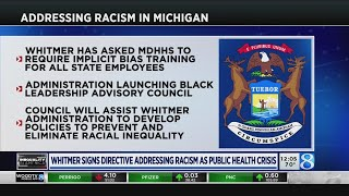 Whitmer calls racism a public health crisis, launches Black advisory council