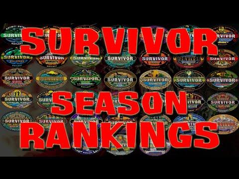 Survivor - Season Rankings