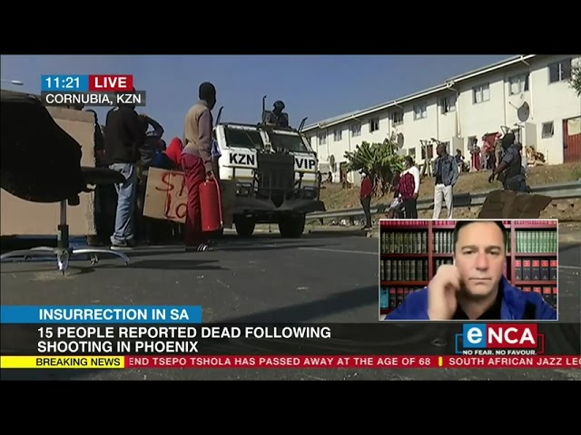 Violence in SA   John Steenhuisen comments on ongoing violence - YouTube